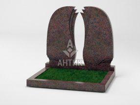 Памятник PADVOGR-009-06 Кишинский гранит фото