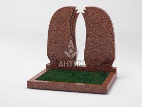Памятник PADVOGR-009-20 Токовский гранит фото