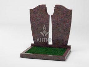 Памятник PADVOGR-011-06 Кишинский гранит фото