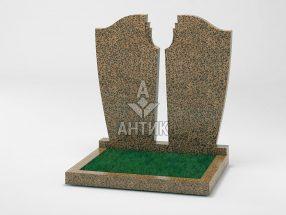Памятник PADVOGR-011-17 Симоновский гранит фото