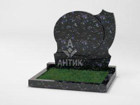 Памятник PADVOGR-013-14 Осныковский лабрадорит фото