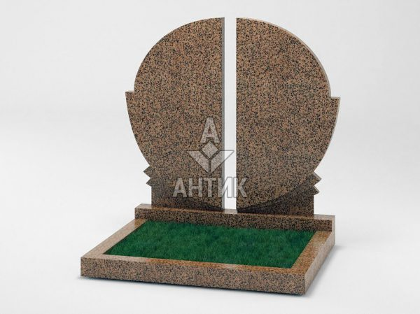 Памятник PADVOGR-032-17 Симоновский гранит фото