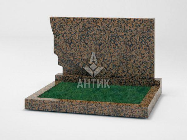 Памятник PADVOGR-034-04 Емельяновский гранит фото