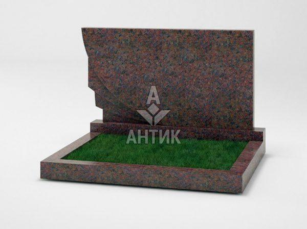 Памятник PADVOGR-034-06 Кишинский гранит фото
