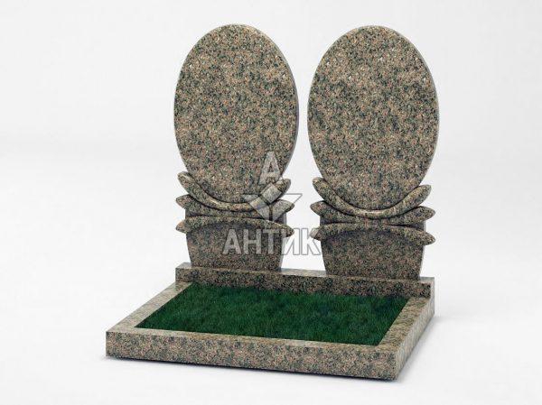 Памятник PADVOGR-036-02 Васильевский гранит фото