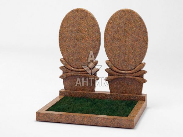 Памятник PADVOGR-036-13 Новоданиловский гранит фото