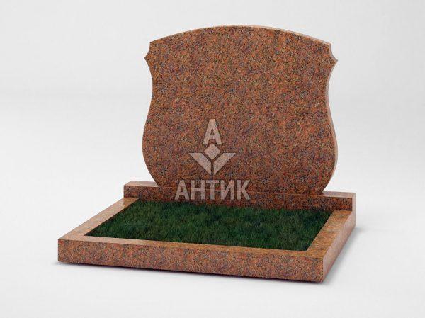 Памятник PADVOGR-038-13 Новоданиловский гранит фото