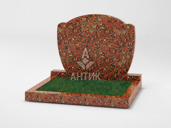 Памятник PADVOGR-039-05 Капустинский гранит фото