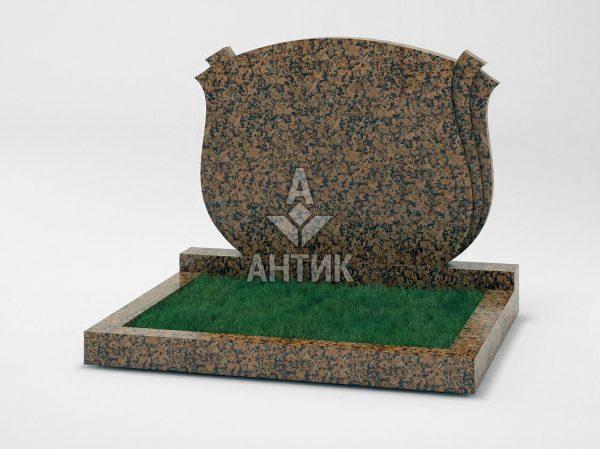 Памятник PADVOGR-040-04 Емельяновский гранит фото