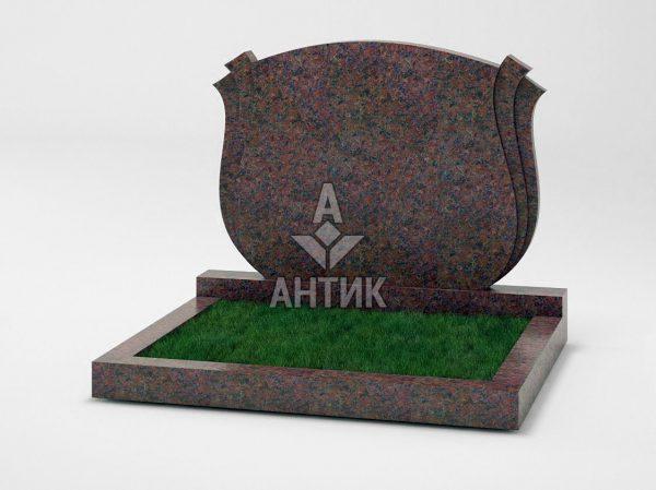 Памятник PADVOGR-040-06 Кишинский гранит фото