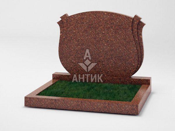 Памятник PADVOGR-040-20 Токовский гранит фото