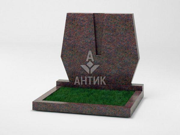 Памятник PADVOGR-042-06 Кишинский гранит фото