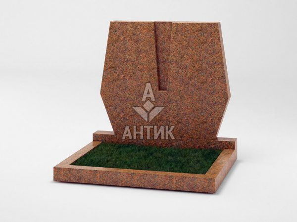 Памятник PADVOGR-042-13 Новоданиловский гранит фото