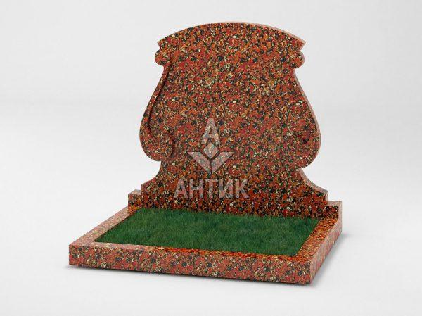 Памятник PADVOGR-043-05 Капустинский гранит фото