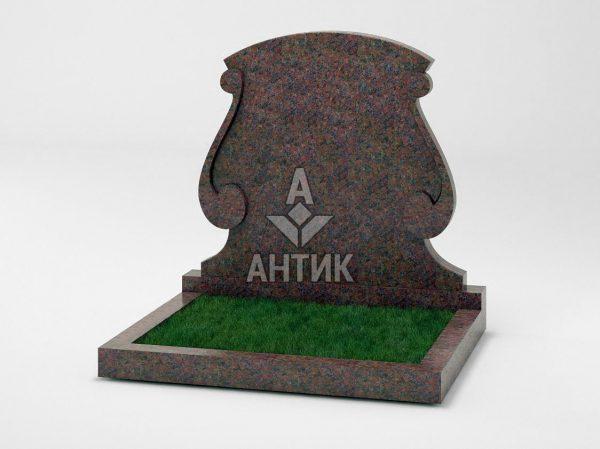 Памятник PADVOGR-043-06 Кишинский гранит фото