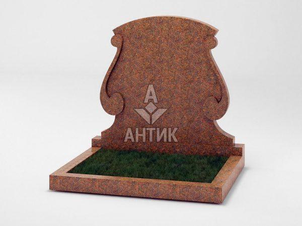 Памятник PADVOGR-043-13 Новоданиловский гранит фото