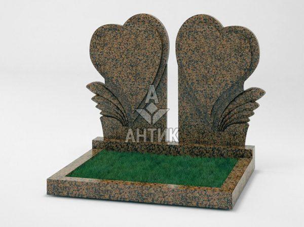 Памятник PADVOGR-045-04 Емельяновский гранит фото