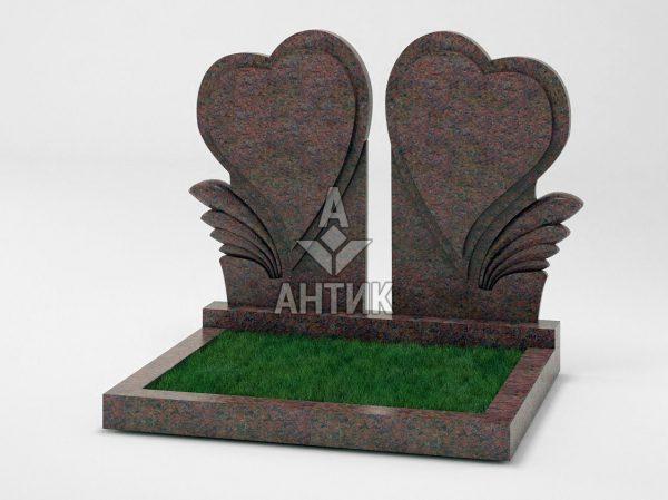 Памятник PADVOGR-045-06 Кишинский гранит фото