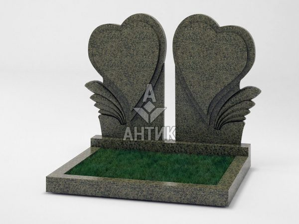 Памятник PADVOGR-045-11 Маславский гранит фото