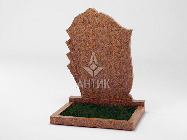 Памятник PADVOGR-047-13 Новоданиловский гранит фото