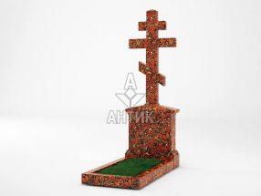 Памятник PAKREGR-001-05 Капустинский гранит фото