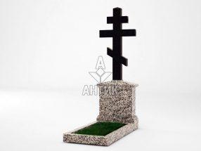 Памятник PAKREGR-001-17 Покостовский гранит реверс фото