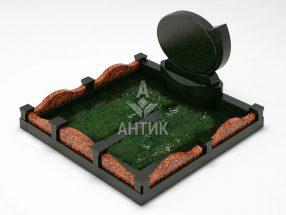 Памятник PAMEMGR-001-03 Капустинский гранит фото
