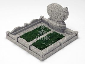 Памятник PAMEMGR-001-04 Константиновский гранит фото