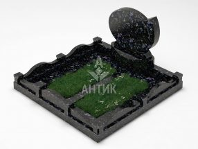 Памятник PAMEMGR-001-09 Осныковский лабрадорит фото