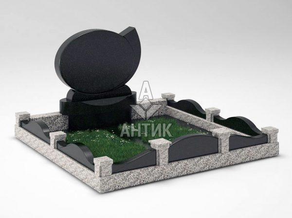 Памятник PAMEMGR-001-10 Покостовский гранит (2) фото