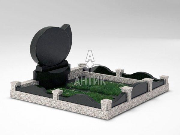 Памятник PAMEMGR-001-10 Покостовский гранит (3) фото