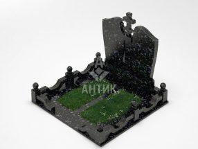 Памятник PAMEMGR-002-09 Осныковский лабрадорит фото