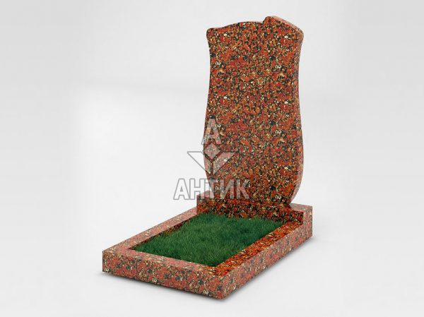 Памятник PAODIGR-016-05 Капустинский гранит фото