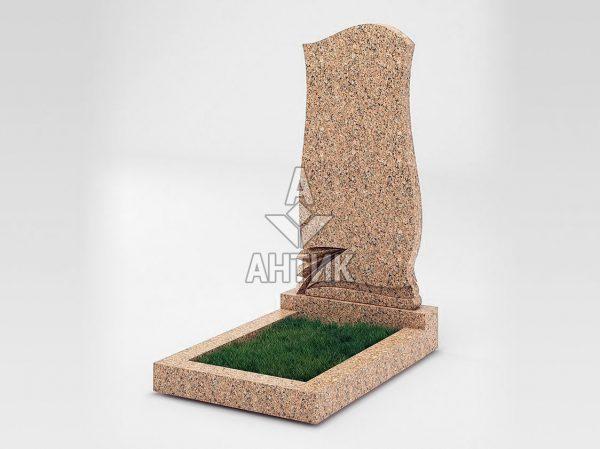 Памятник PAODIGR-037-12 Межиричский гранит фото