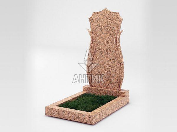 Памятник PAODIGR-038-12 Межиричский гранит фото