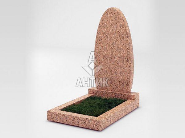 Памятник PAODIGR-040-12 Межиричский гранит фото