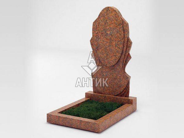 Памятник PAODIGR-053-13 Новоданиловский гранит фото