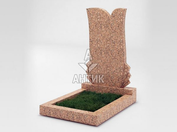 Памятник PAODIGR-055-12 Межиричский гранит фото