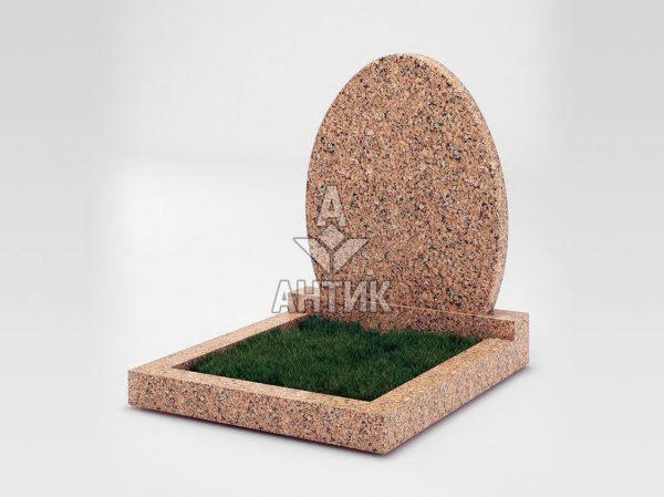 Памятник PAODIGR-060-12 Межиричский гранит фото