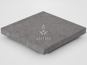 Плитка из Берестовецкого базальта 300x300x30 термообработанная фото