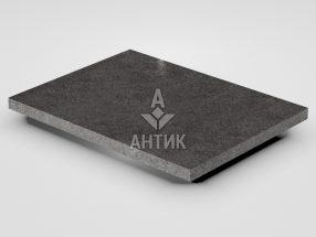 Плитка из Берестовецкого базальта 400x300x20 полированная фото