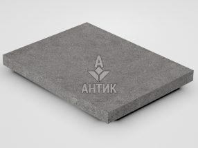 Плитка из Берестовецкого базальта 400x300x30 термообработанная фото