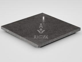 Плитка из Берестовецкого базальта 400x400x20 полированная фото