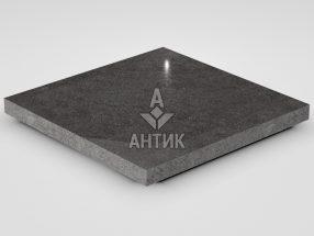 Плитка из Берестовецкого базальта 400x400x30 полированная фото
