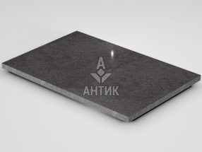 Плитка из Берестовецкого базальта 600x400x20 полированная фото