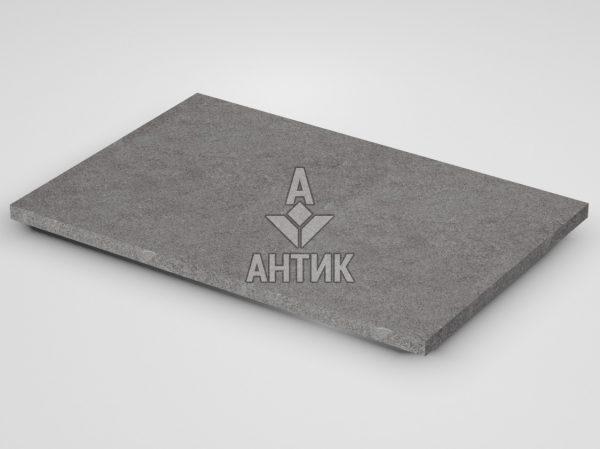 Плитка из Берестовецкого базальта 600x400x20 термообработанная фото