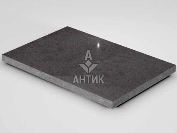Плитка из Берестовецкого базальта 600x400x30 полированная фото