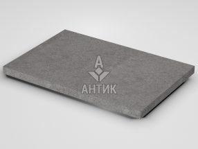 Плитка из Берестовецкого базальта 600x400x30 термообработанная фото
