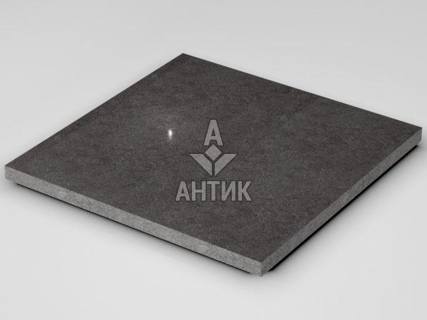Плитка из Берестовецкого базальта 600x600x30 полированная фото