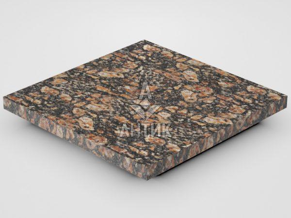 Плитка из Брусиловского гранита 300x300x20 термообработанная фото